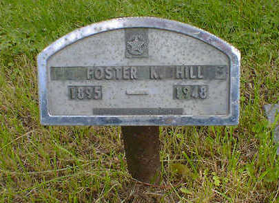 HILL, FOSTER K. - Cerro Gordo County, Iowa | FOSTER K. HILL
