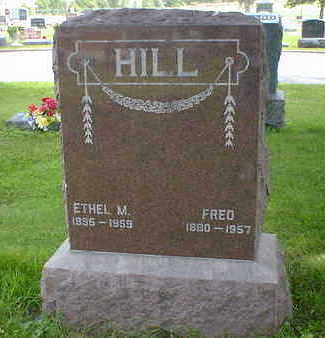 HILL, FRED - Cerro Gordo County, Iowa | FRED HILL