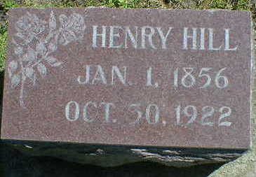 HILL, HENRY - Cerro Gordo County, Iowa | HENRY HILL