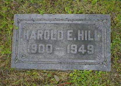 HILL, HAROLD E. - Cerro Gordo County, Iowa | HAROLD E. HILL