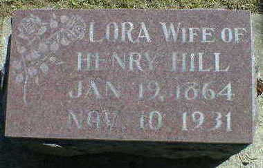 HILL, LORA - Cerro Gordo County, Iowa | LORA HILL