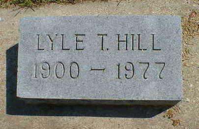 HILL, LYLE T. - Cerro Gordo County, Iowa | LYLE T. HILL