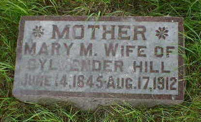 HILL, MARY M. - Cerro Gordo County, Iowa | MARY M. HILL
