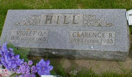 HILL, VIOLET O. - Cerro Gordo County, Iowa | VIOLET O. HILL