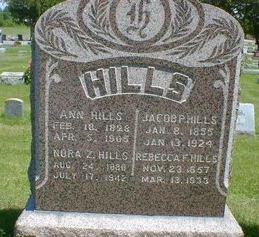 HILLS, JACOB P. - Cerro Gordo County, Iowa | JACOB P. HILLS