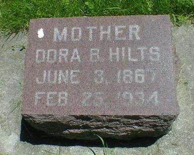 HILTS, DORA B. - Cerro Gordo County, Iowa | DORA B. HILTS