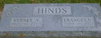 HINDS, VERNER A. - Cerro Gordo County, Iowa   VERNER A. HINDS