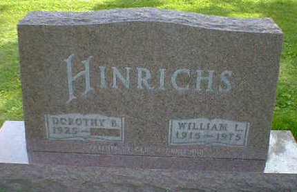 HINRICHS, WILLIAM L. - Cerro Gordo County, Iowa | WILLIAM L. HINRICHS