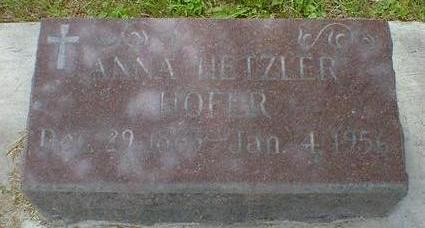 HOFER, ANNA - Cerro Gordo County, Iowa | ANNA HOFER