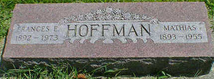 HOFFMAN, MATHIAS - Cerro Gordo County, Iowa | MATHIAS HOFFMAN