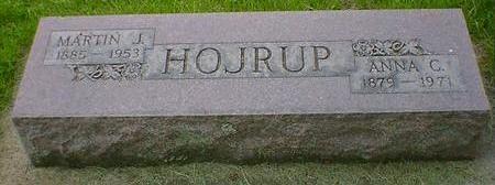 HOJRUP, ANNA C. - Cerro Gordo County, Iowa | ANNA C. HOJRUP