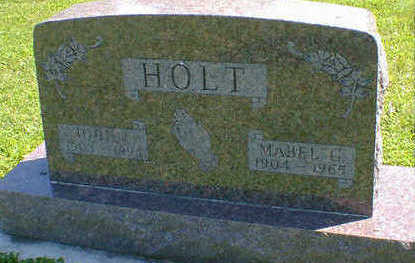 HOLT, JOHN - Cerro Gordo County, Iowa | JOHN HOLT