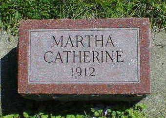 HOLT, MARTHA CATHERINE - Cerro Gordo County, Iowa | MARTHA CATHERINE HOLT