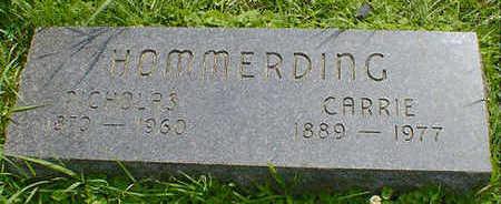 HOMMERDING, CARRIE - Cerro Gordo County, Iowa | CARRIE HOMMERDING