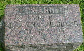 HUBBARD, HOWARD C. - Cerro Gordo County, Iowa | HOWARD C. HUBBARD