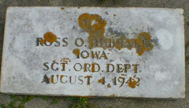 HUBBARD, ROSS O. - Cerro Gordo County, Iowa | ROSS O. HUBBARD
