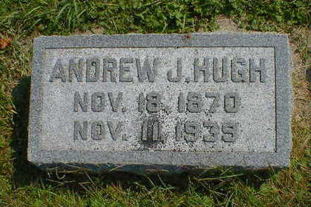 HUGH, ANDREW J. - Cerro Gordo County, Iowa | ANDREW J. HUGH