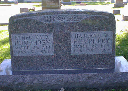 HUMPHREY, ETHEL - Cerro Gordo County, Iowa | ETHEL HUMPHREY