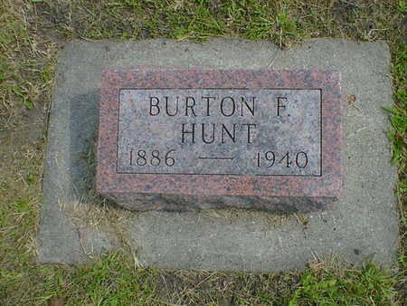 HUNT, BURTON F. - Cerro Gordo County, Iowa | BURTON F. HUNT