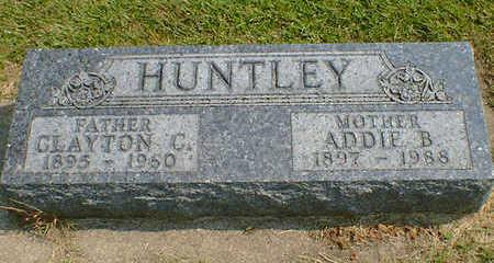 HUNTLEY, CLAYTON C. - Cerro Gordo County, Iowa | CLAYTON C. HUNTLEY