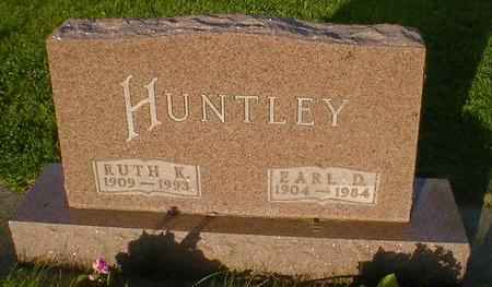HUNTLEY, EARL D. - Cerro Gordo County, Iowa | EARL D. HUNTLEY
