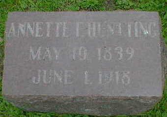 HUNTTING, ANNETTE F. - Cerro Gordo County, Iowa | ANNETTE F. HUNTTING
