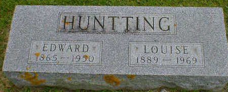HUNTTING, EDWARD - Cerro Gordo County, Iowa | EDWARD HUNTTING