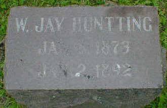 HUNTTING, W. JAY - Cerro Gordo County, Iowa | W. JAY HUNTTING