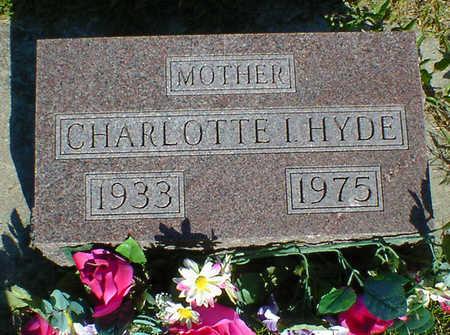 HYDE, CHARLOTTE I. - Cerro Gordo County, Iowa | CHARLOTTE I. HYDE