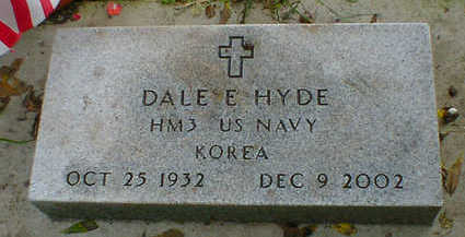 HYDE, DALE E. - Cerro Gordo County, Iowa | DALE E. HYDE