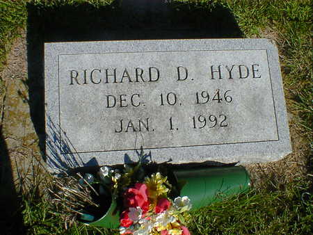 HYDE, RICHARD D. - Cerro Gordo County, Iowa | RICHARD D. HYDE