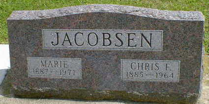 JACOBSEN, CHRIS F. - Cerro Gordo County, Iowa | CHRIS F. JACOBSEN
