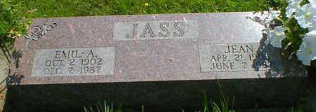 JASS, EMIL A. - Cerro Gordo County, Iowa | EMIL A. JASS