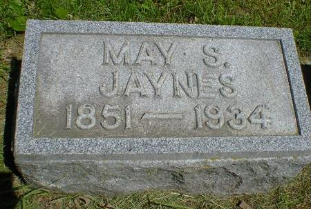 JAYNES, MAY S. - Cerro Gordo County, Iowa | MAY S. JAYNES