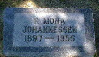 JOHANNESSEN, F. MONA - Cerro Gordo County, Iowa | F. MONA JOHANNESSEN
