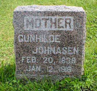 JOHNASON, GUNHILDE - Cerro Gordo County, Iowa | GUNHILDE JOHNASON