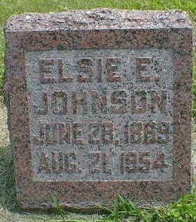 JOHNSON, ELSIE E. - Cerro Gordo County, Iowa | ELSIE E. JOHNSON