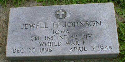 JOHNSON, JEWELL H. - Cerro Gordo County, Iowa | JEWELL H. JOHNSON