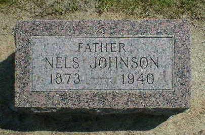 JOHNSON, NELS - Cerro Gordo County, Iowa | NELS JOHNSON