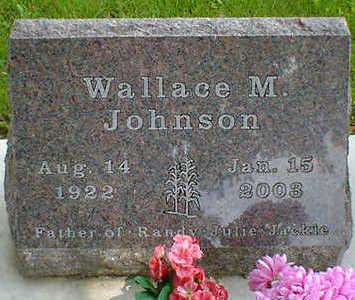 JOHNSON, WALLACE M. - Cerro Gordo County, Iowa | WALLACE M. JOHNSON