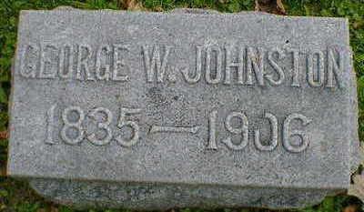 JOHNSTON, GEORGE W. - Cerro Gordo County, Iowa   GEORGE W. JOHNSTON