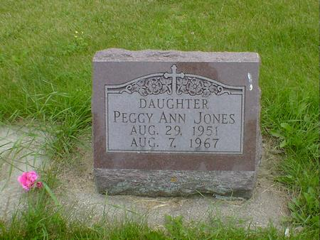 JONES, PEGGY ANN - Cerro Gordo County, Iowa | PEGGY ANN JONES