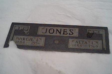 JONES, VIRGIL - Cerro Gordo County, Iowa | VIRGIL JONES