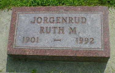 JORGENRUD, RUTH M. - Cerro Gordo County, Iowa | RUTH M. JORGENRUD