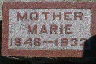 JORGENSEN, MARIE - Cerro Gordo County, Iowa | MARIE JORGENSEN