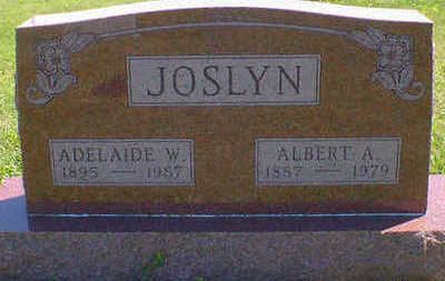 JOSLYN, ALBERT A. - Cerro Gordo County, Iowa | ALBERT A. JOSLYN