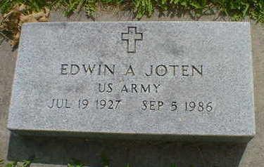 JOTEN, EDWIN A. - Cerro Gordo County, Iowa | EDWIN A. JOTEN