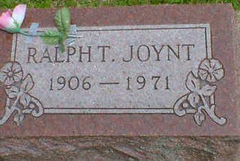 JOYNT, RALPH T. - Cerro Gordo County, Iowa   RALPH T. JOYNT
