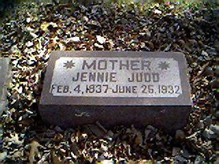 JUDD, JENNIE - Cerro Gordo County, Iowa | JENNIE JUDD