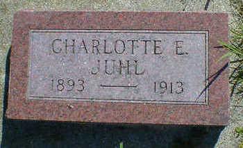 JUHL, CHARLOTTE E. - Cerro Gordo County, Iowa | CHARLOTTE E. JUHL